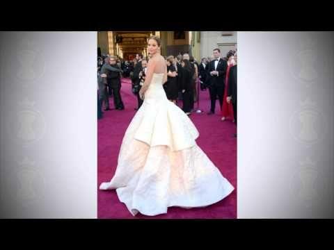 Платья ОСКАР 2013 - Технологии пошива лучших платьев - YouTube
