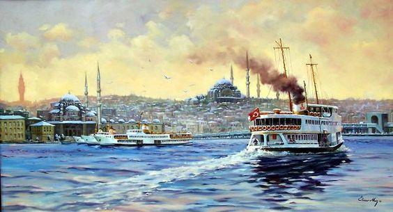 GANYAN'İS - Sanatın İnci Daneleri - Allah içeriden yaratır: Ömer Muz  ..  ''  Bir başka İstanbul ''