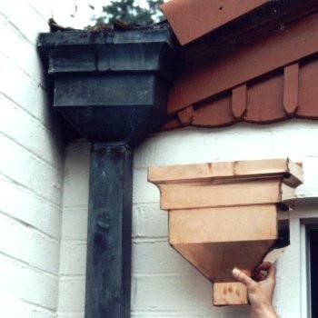 85 Best Copper Gutters Rain Chain And Downspouts Images On