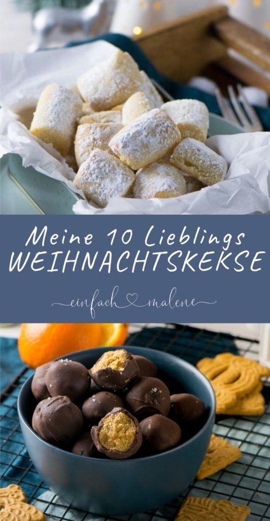 Kein Weihnachten ohne diese Kekse! Es gibt so viele tolle Rezepte, aber diese To …