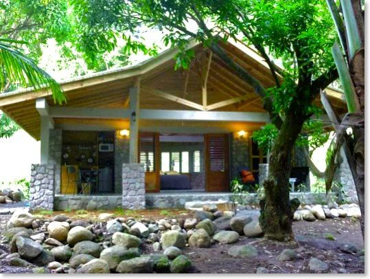Mango Cottage at Citrus Creek Plantation La Plain, #Dominica wwwCitrusCreekPlantation.com