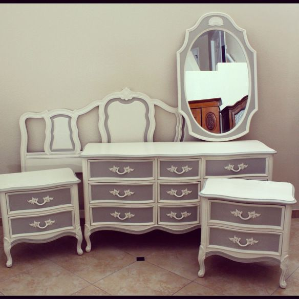 Best 25 grey dresser ideas on pinterest bedroom dressers dressers and dresser for Refurbished bedroom furniture