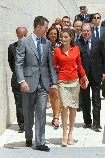 1th July 2014 King Felipe and Queen Letizia in Valladolid King Felipe and Queen Letizia attended the delivery of National Innovation and Desing Awards 2013 at Museo de la Ciencia de Valladolid in Valladlid #KingFelipeVI #ReyFelipe #QueenLetizia #ReinaLetizia #Museo #Valladolid