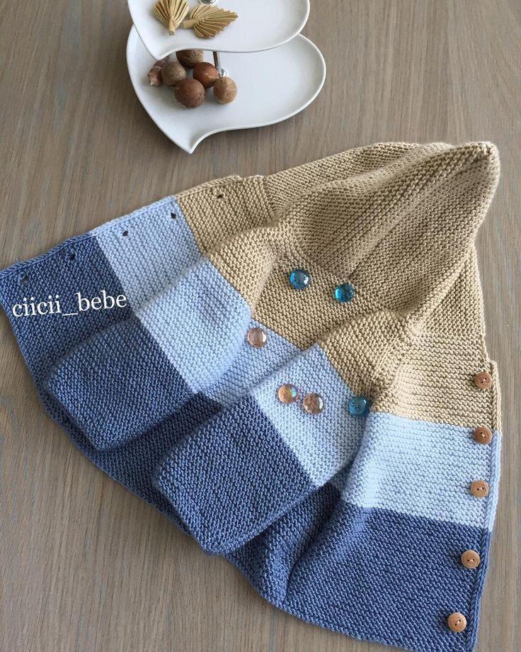 """81 Likes, 5 Comments - Cicili Bicili Bebişlere (@ciicii_bebe) on Instagram: """"Minik efeler için. Bilgi için DM den yazın. ❤️ #Bebekler #kızbebek #oğlanbebek #hobim #örgü…"""""""