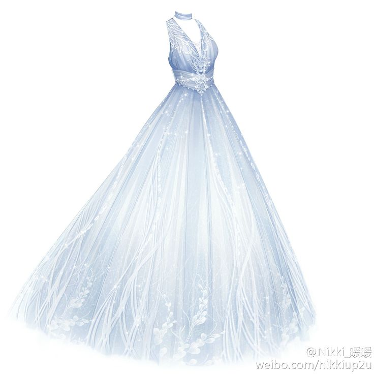 ball gown dress drawings - photo #21