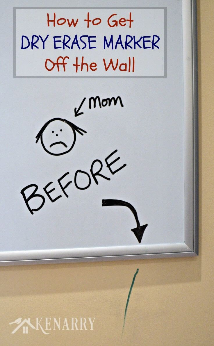 Dry Erase Marker Removal How To Get It Off Walls Easily Dry Erase Markers Dry Erase Markers