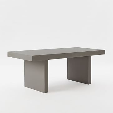Quarry Rectangular Indoor/Outdoor Table #westelm