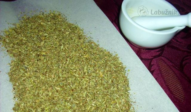 Domácí příprava bylinek z Provence (provensálské koření)/Herbes De Prove