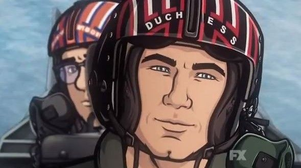Watch This: A New Top Gun Inspired Promo For Archer Season 5 Is Here To Remind You How Much You Miss Archer