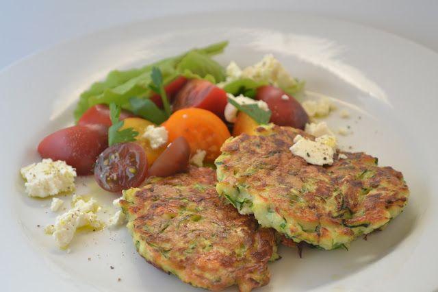 Eet lekker: Courgettekoekjes met feta