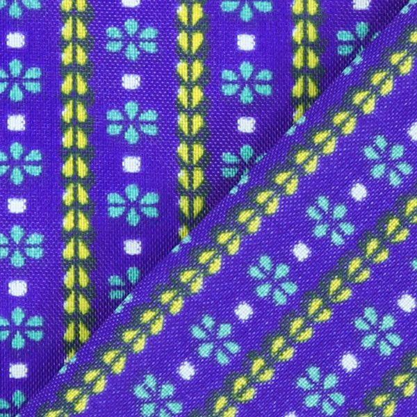 Blusenstoff Blau der Könige - Polyester - königsblau