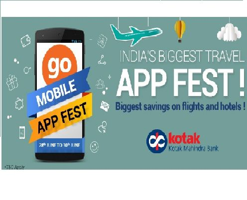 Goibibo is offering 2500 off on Airline Ticket How to catch the offer: Click here for offer page Download Goibibo App Apply offer code GOFEST Fill the shipping details Make final payment
