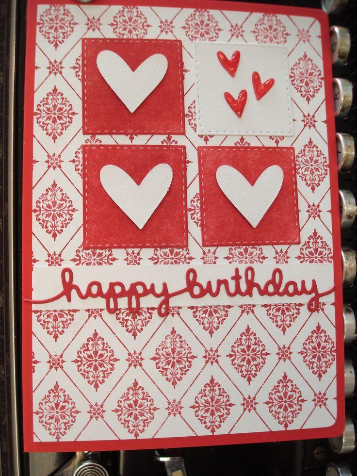 match the sketch 222 happy birthday rote herzen