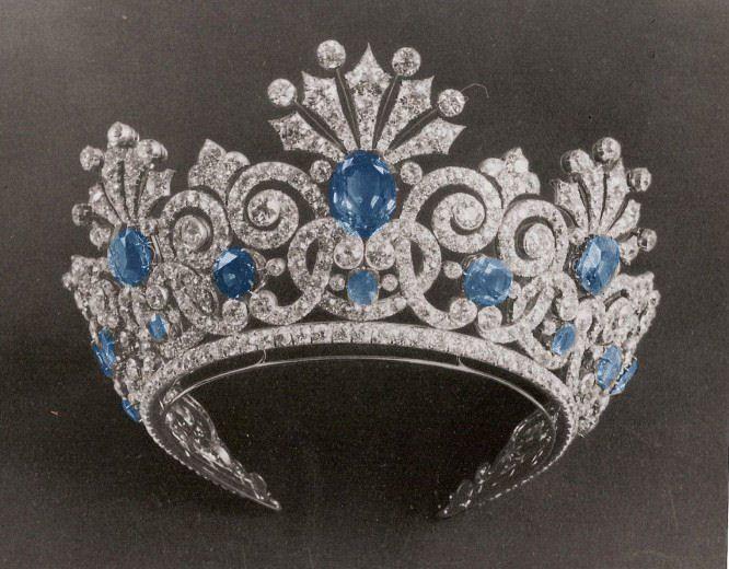 Sapphire Tiara - Romanov Family