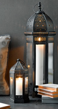 My collection of all styles of Middle Eastern lanterns continues to grow....Love them