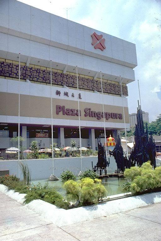 Plaza Singapura in the 80s/90s