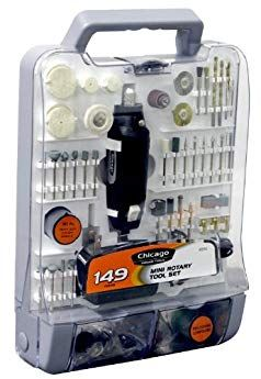Chicago Tools 63516 149 Piece Mini Rotary Tool Set By Allied International Review