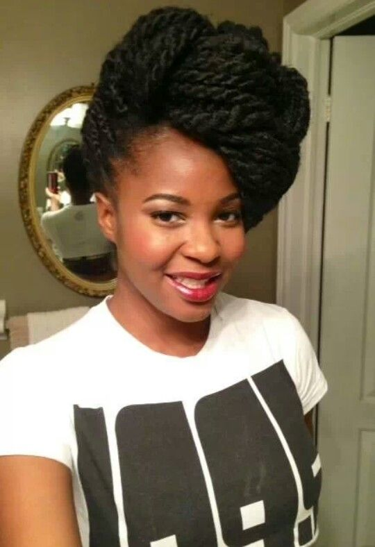 Enjoyable 1000 Images About Braids Twists Amp That Updo On Pinterest Short Hairstyles For Black Women Fulllsitofus