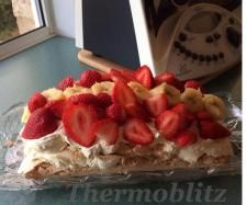 Recipe Thermoblitz Pavlova (Pavloave) by Thermoblitz - Recipe of category Desserts & sweets