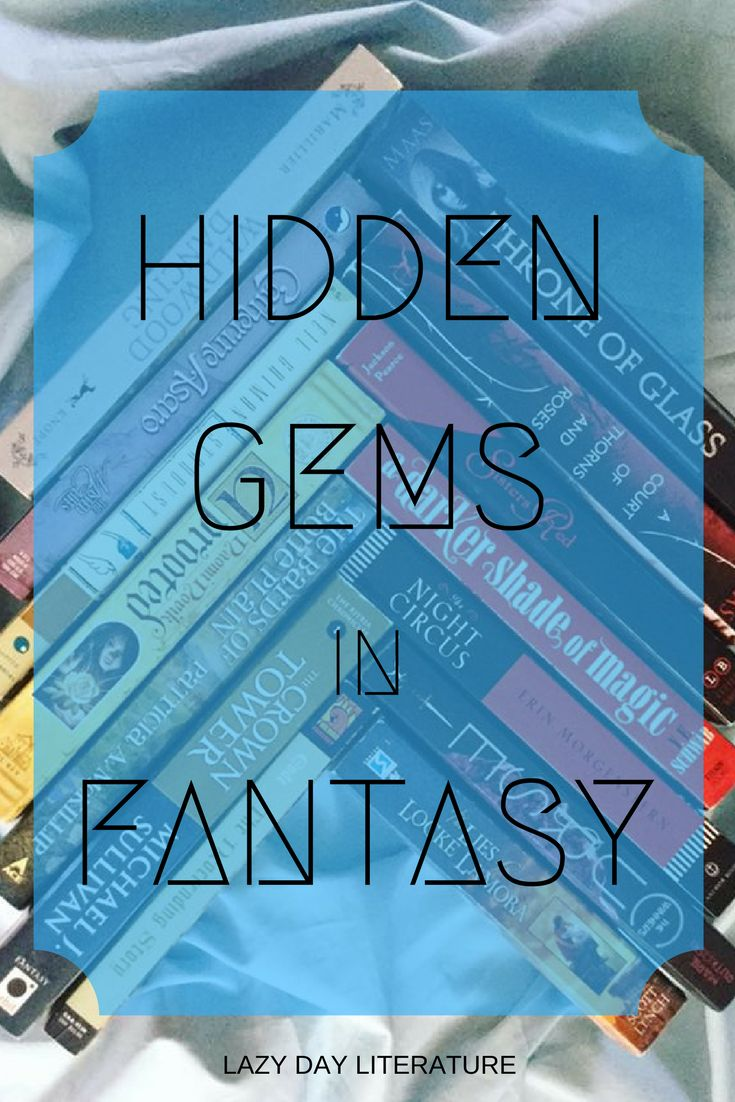 Hidden Gems in Fantasy (Top Ten Tuesday #111) at Lazy Day Literature | Lazy Day Lit | Fantasy books | Lesser known fantasy