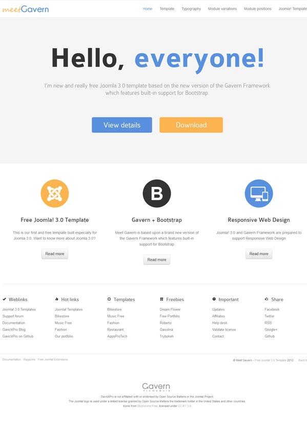 9 best joomla templates images on pinterest joomla templates 10 best and free joomla templates flashek Images