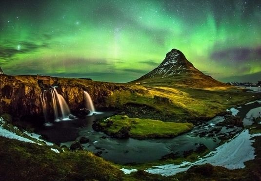 A thrilling Iceland break at a rave-reviewed hotel in the centre of Reykjavik - includes a Northern Lights tour, Blue Lagoon transfers and an optional Golden Circle tour, plus flights and transfers