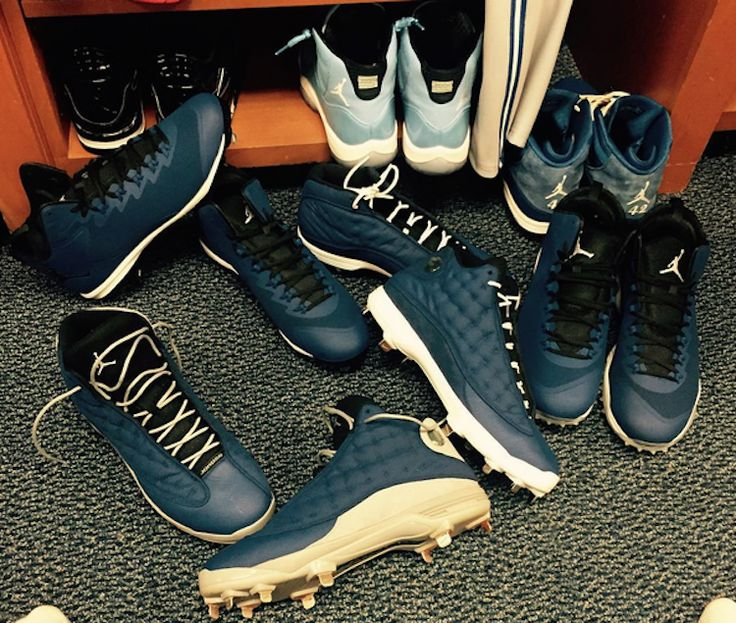 David Price's Air Jordan Cleat Collection