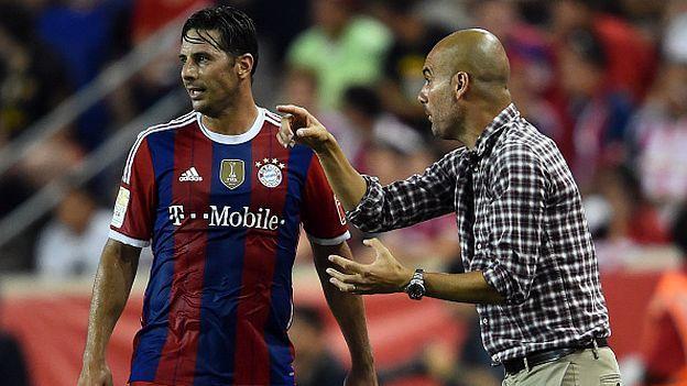 Claudio Pizarro y la fotografía maldita de Josep Guardiola en Bayern Munich