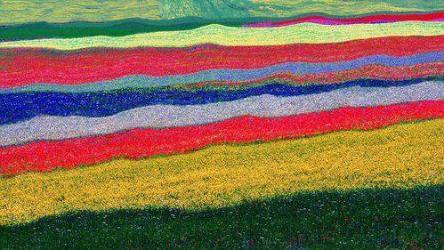 Abstract landscape #6 by Edoardo Gobattoni