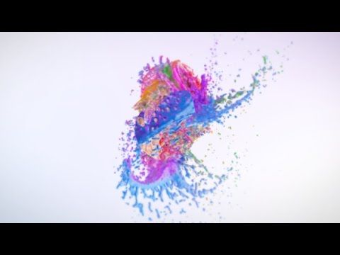 Splashing Butterfly Logo Reveal | After Effects template