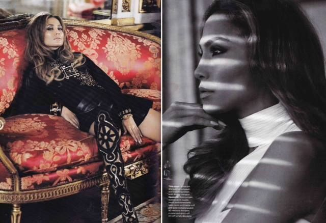 Jennifer Lopez looking incredible as always in this month's ELLE wearing The Roxelana Ruby Cuff. Get yours here > http://www.brigademondaine.com