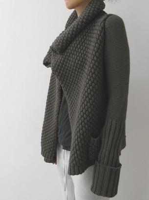 rick owens CROCHET AND KNIT INSPIRATION: http://pinterest.com/gigibrazil/crochet-and-knitting-lovers/