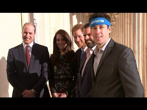 William, Catherine and Harry attend a briefing to outline the next phase...