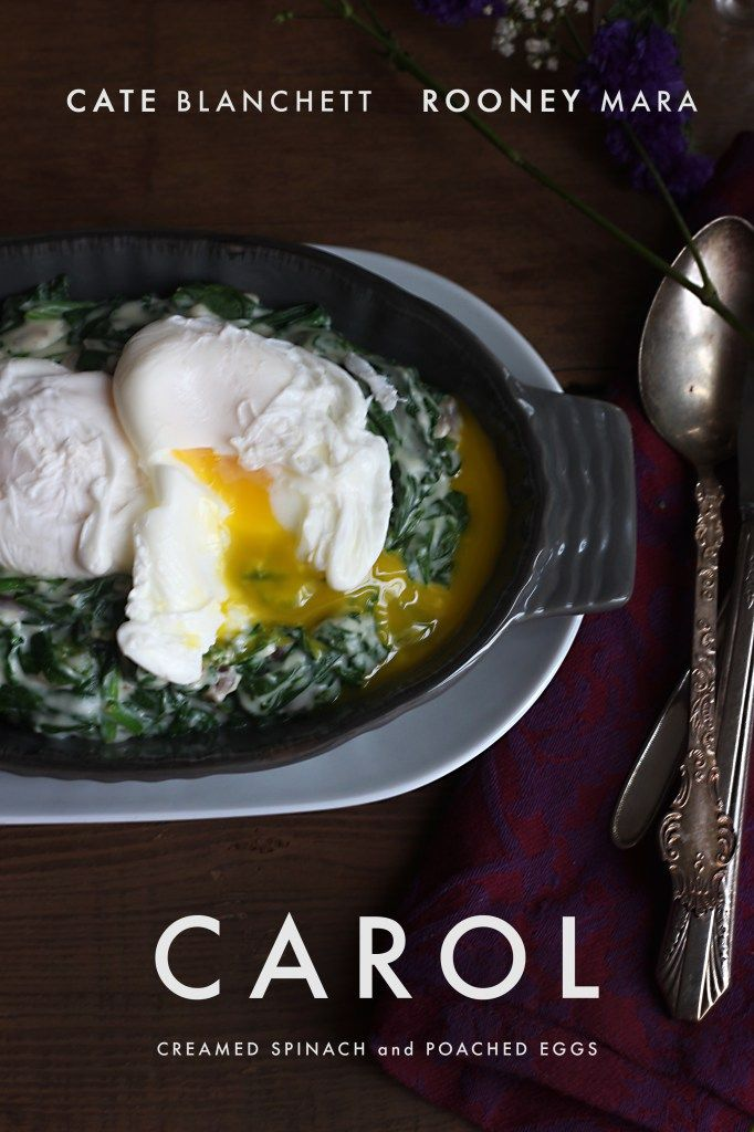 Carol: Creamed Spinach and Poached Egg