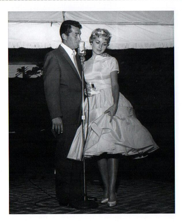 Dean Martin and Janet Leigh /AS1966