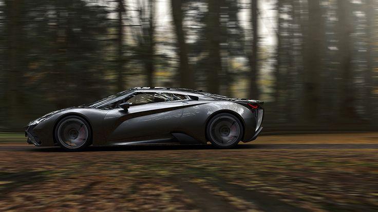 Vensepto Concept Car by Steel Drake