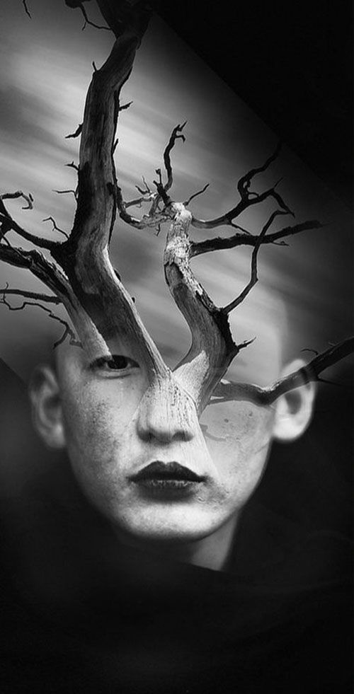 Surreal Portraits Blend Mystical Landscapes with Reality - My Modern Metropolis. Antonio Mora photog.