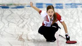 Kaitlyn Lawes was the third on the team skipped by Jennifer Jones that won gold at Sochi 2014. They were the first women's team to ever go undefeated through the Olympic tournament, posting a perfect 11-0 record as they won Canada's first Olympic gold in women's curling since Nagano 1998.