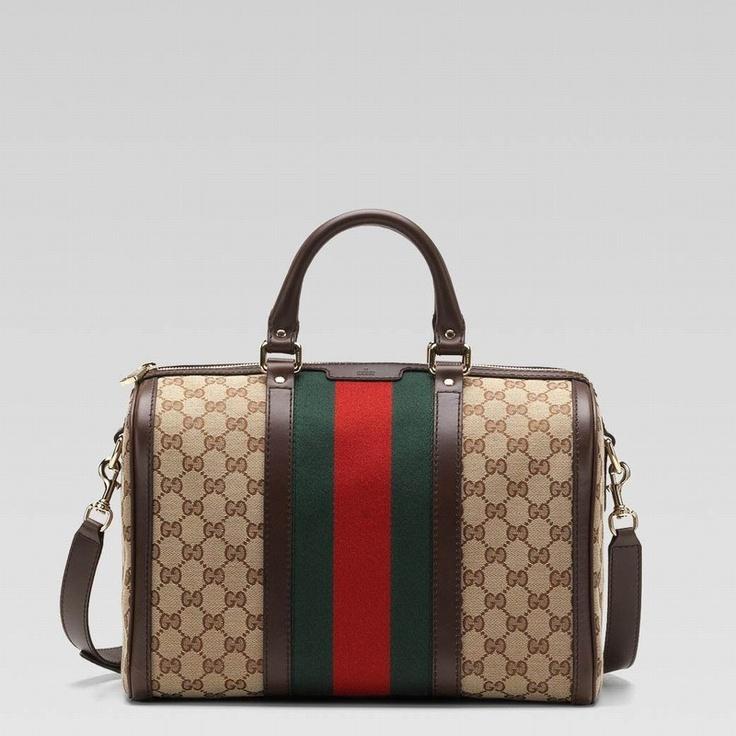 Bolsa Gucci - Vintage Escura  - www.modagrife.com