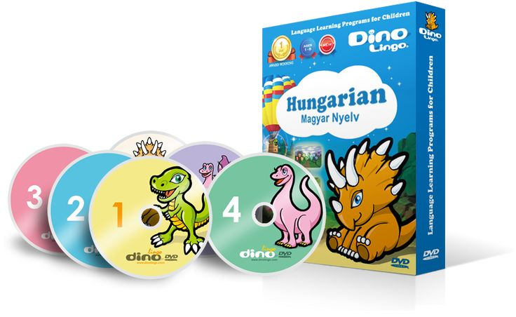 50 WAYS TO TEACH CHILDREN HUNGARIAN ..Make use of language learning DVDs for kids Language DVDs come handy , especially fro busy parents, as they repeat useful words and phrases in a fun and interesting way Check them out, Look for something that is specifically for kids, that uses games and songs and has well-structured levels. http://dinolingo.com/blog/2015/03/25/how-to-teach-children-hungarian/#.VZuTzfntmko #hungariandvd #learnhungarian #hungarian