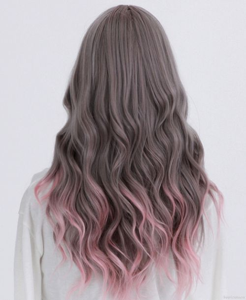 ♥ perfect underneath color with an ash blonde on top
