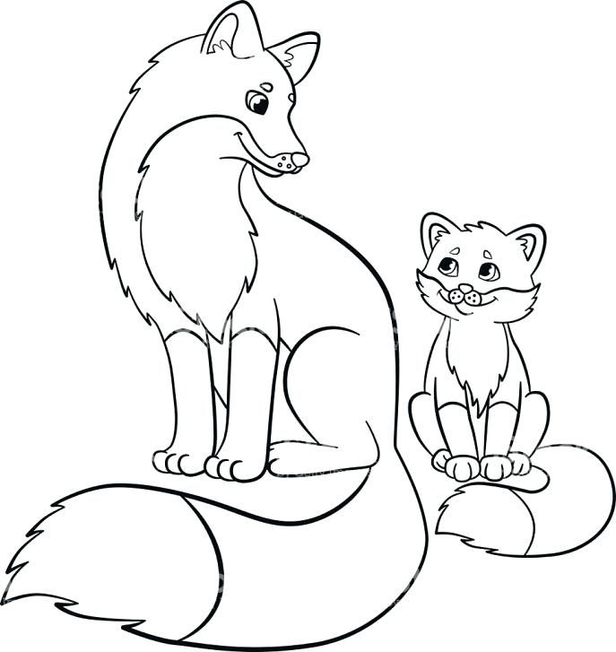 Http Tafsuit Com Baby Fox Coloring Pages Baby Fox Coloring Pages