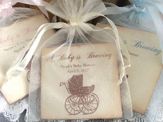Baby Shower Favors Walmart ~ Baby shower favors tea bag favor