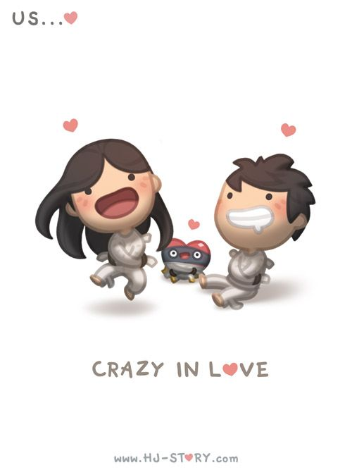 Love us.. Crazy in love!  Subscribe to HJS @ http://tapastic.com/series/393 and see more!