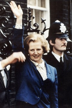 Margaret Thatcher. Britains first female prime minister. Definitely not my politics, but I've always admired her as a strong determined women and a great leader.