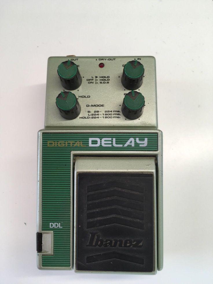 Rare Vintage 80s Ibanez Ddl Digital Delay Guitar Effects