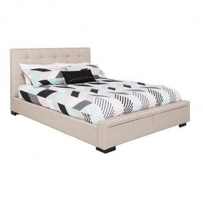 Evelyn Bed Queen, Upholstered 2280(L)X16