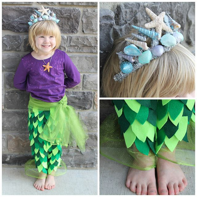 Mermaid Costume IN LOVE WITH THE CROWN
