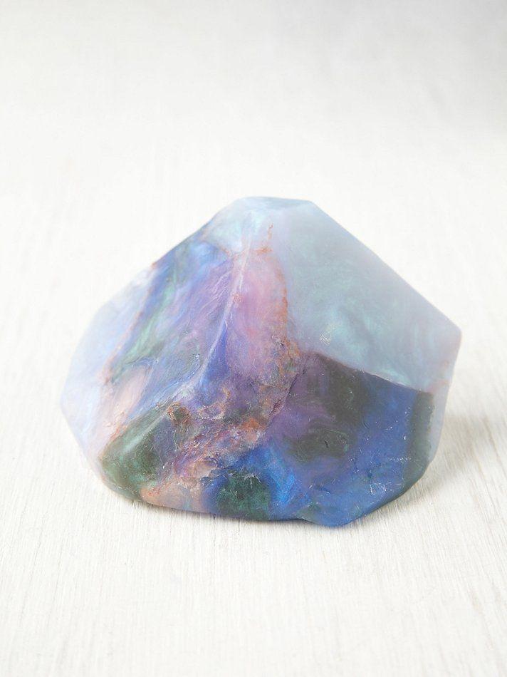 Soap Rocks Crystal Soap - Opal