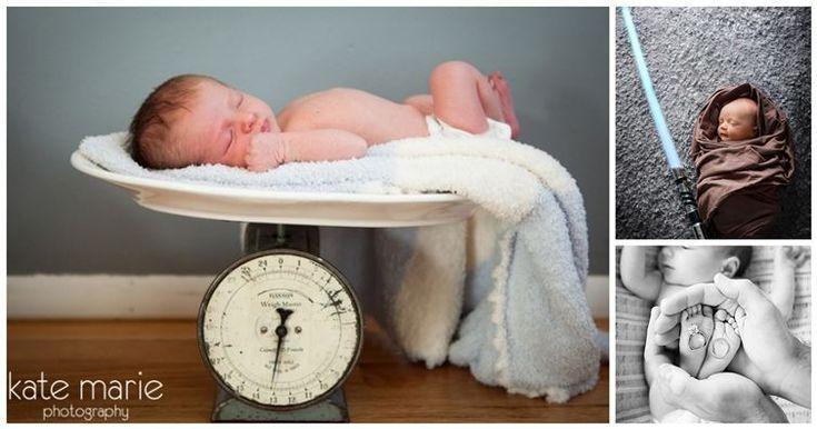 Ideas for photos of newborns